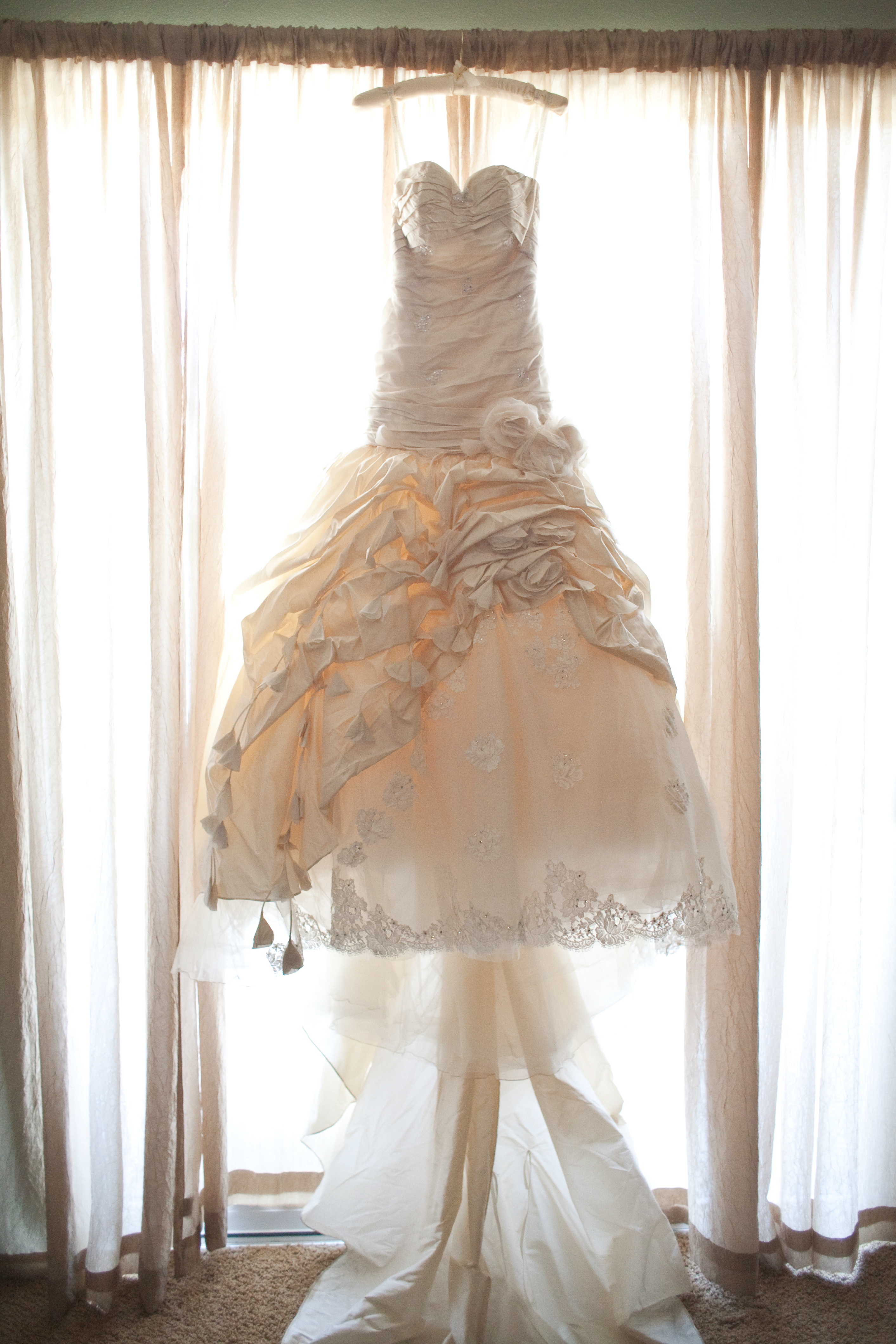 Thao and robert s wedding for Wedding dress like belle from beauty and the beast