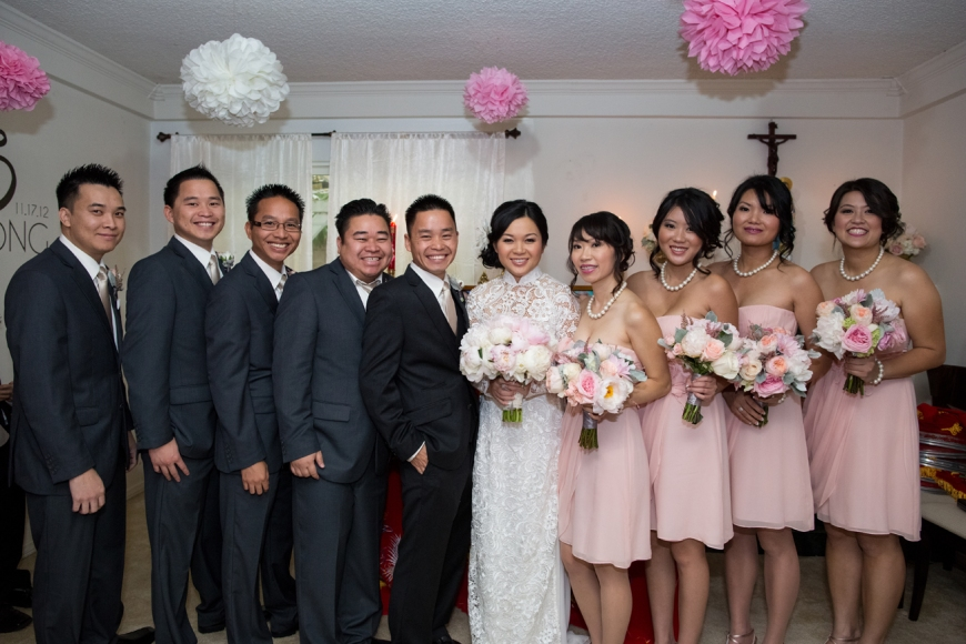 Trini & Phong Wedding -  0348